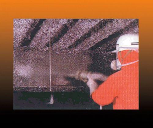 供应高纯陶瓷纤维喷涂料 特种耐火隔热层喷涂料