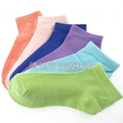 广东佛山袜子织造厂女袜 纯棉女袜 短筒女袜 外贸女袜