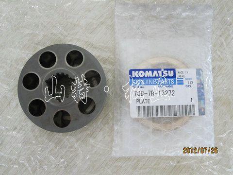小松PC50MR-2旋转马达泵胆配流盘原厂进口配件