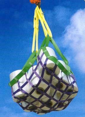 手工编织吊网-提供大吨位吊装带-力夫特索具集团