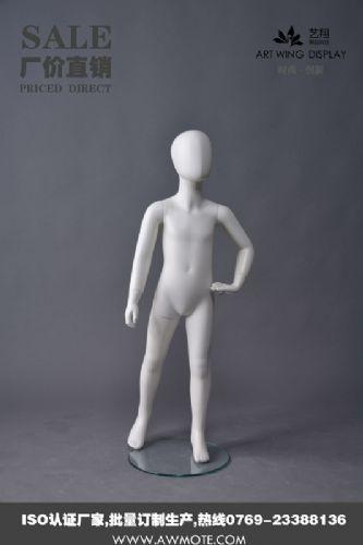 服装店模特道具,艺翔小孩模特道具厂