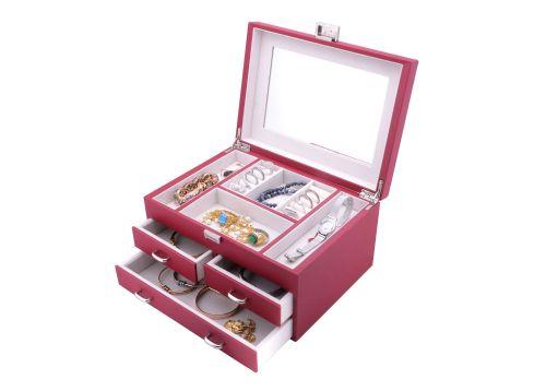 皮盒 手表皮盒 化妆品皮盒 首饰皮盒