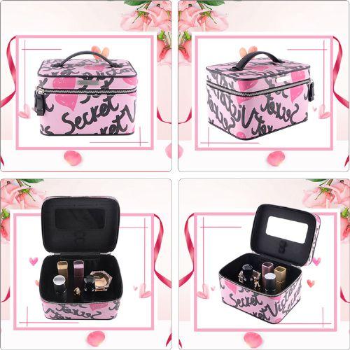 化妆品皮盒|化妆箱皮质包装盒定制