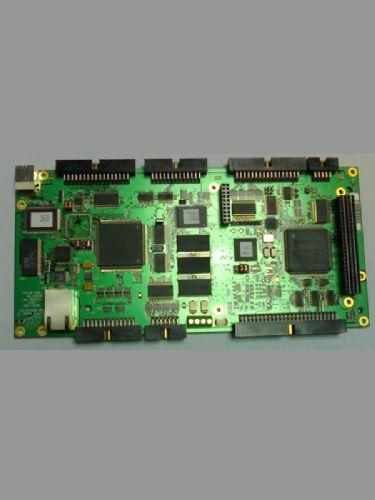4通道轴接口电路,每一个包括:  turbo pmac clipper控制器  在板模拟
