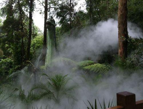 温室大棚生态园假山四川人造雾公司湖南人造雾机