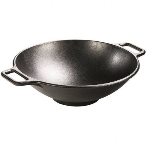 cast iron woks