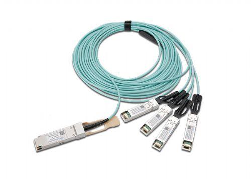 华为思科兼容QSFP+ 转 4 SFP+ 有源分支光缆AOC