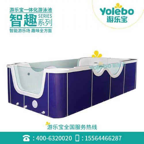 上海亚克力玻璃儿童游泳池产后修复小孩游泳池智能早教