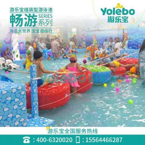 广东拆装式室内恒温游泳池健身房泳池设备幼儿戏水乐园