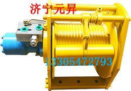 淮南5吨液压卷扬机价格 拉木头专用款液压马达绞盘机图片