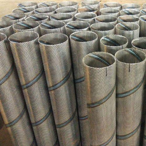 冲孔螺旋埋弧焊管-冲孔螺旋焊接管