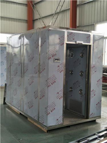 QS、SC认证设备风淋室安装维护