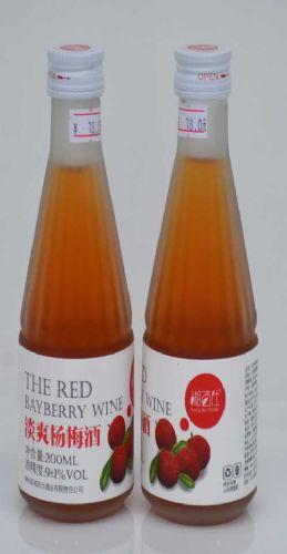 瓶装杨梅酒销售