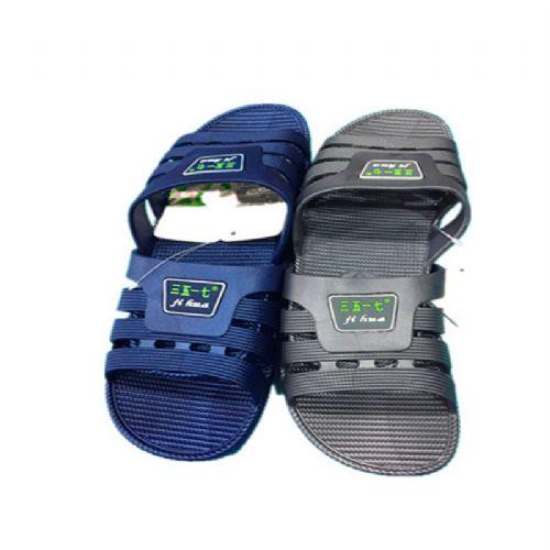3517男拖鞋,两色入
