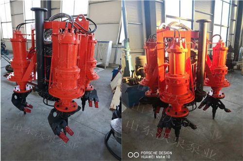 带潜水铰刀搅拌器 抽污泥泵 河道清淤泵