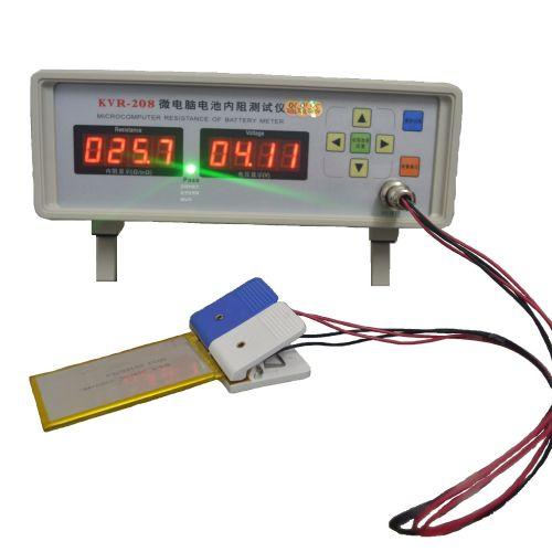 KVR-208微电脑电池内阻测试仪聚合物数码锂电池内阻仪