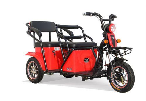 1000w powerful electric rickshaw