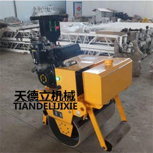 170F手扶单轮压路机 600单轮柴油压路机 汽油划线机