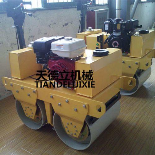 600手扶双轮压路机  SL600C手扶双轮柴油动力压路机
