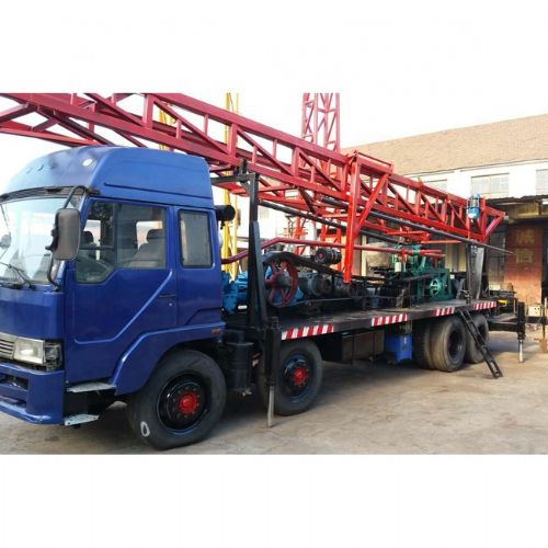 Chinese 300m Depth Truck Mounted Welll Drilling Rig for sa