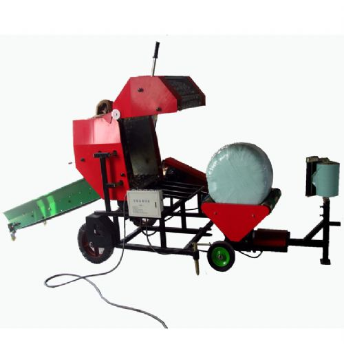Mini round baler silage baling machine with exported standard