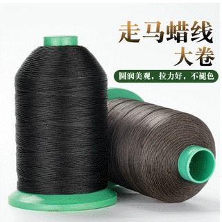 黑色走马蜡线手缝箱包马克线牛皮革线