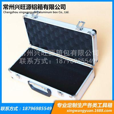 加强型铝合金铝箱 铝合收纳箱小圆角 六角银