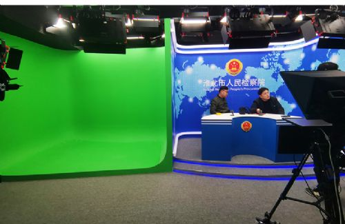 天影视通直播演播室LED补光平板