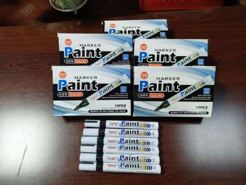 TOYO东洋油漆笔SA101补漆笔记号笔轮胎补漆防水不易掉