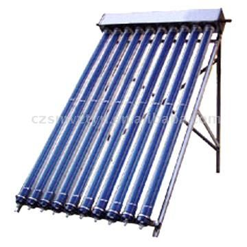 super conduction heat pipe solar collector