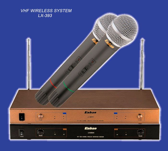 wireless microphone LX-393VH