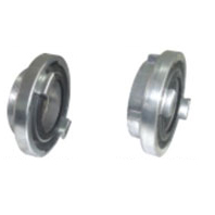 Aluminium Storz coupling with threading