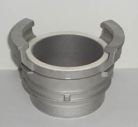 Aluminium guillemin coupling male