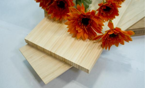 Natural color Vertical Bamboo Plywood