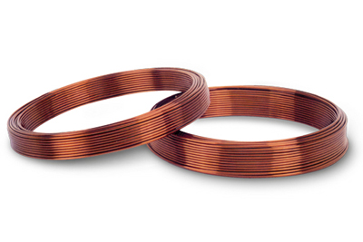 Polyimide-F46 composite film wrapped round copper wire