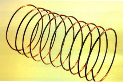 Enamelled round copper wire