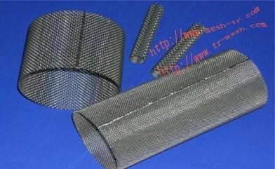 过滤筒主要采用不锈钢过滤网