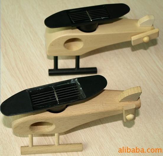 木飞机,太阳能玩具