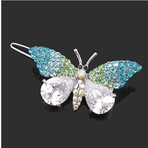 蝴蝶发夹 发饰 金属发夹 精美发夹