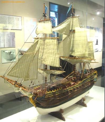 泳顺工艺古船艺术模型