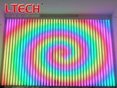LED music video digital tube