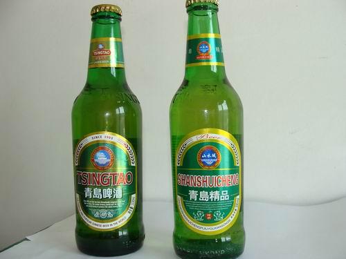批发青岛啤酒山水啤酒 30元/件
