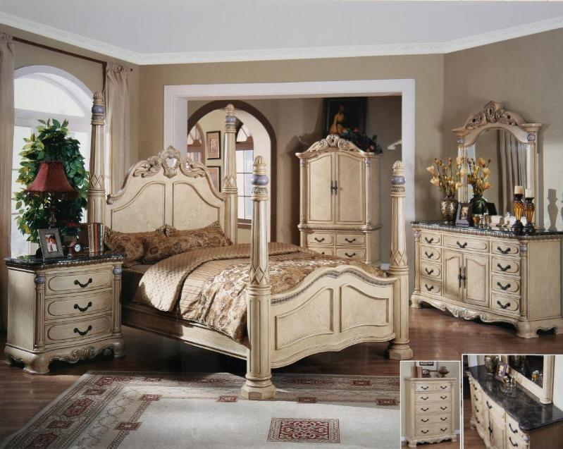all products bs 919pw luxury bedroom furniture set