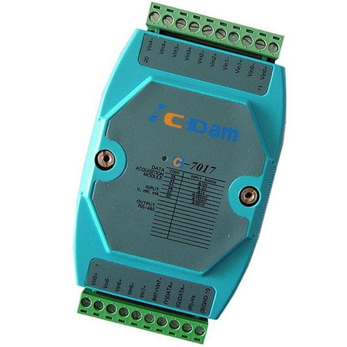 C-7017 8路模拟量输入电流、电压检测模块 价格:650元/块