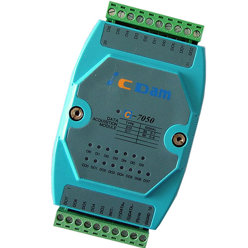 C-7050D 7路非隔离数字量输入输出模块