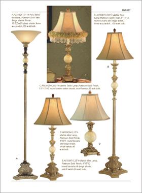 灯工坊五金台灯,玻璃台灯,水晶欧式台灯 价格:300元