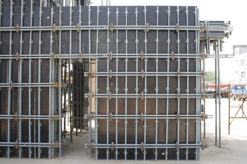 Construction Scaffolding Formwork for Shear Wall