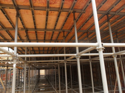 Quick Scaffolding Formwork for slab and top template