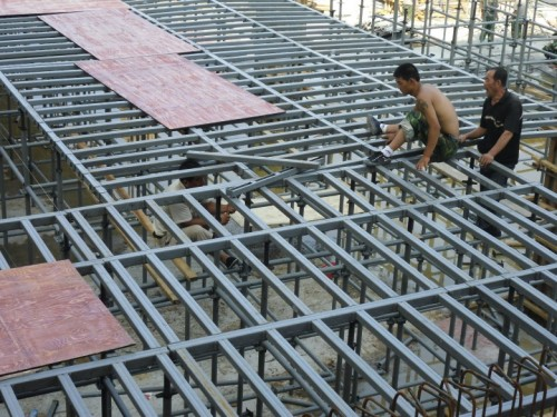 Quick and modular Scaffolding for slab formwork support