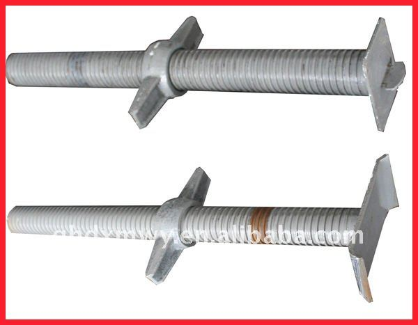 Hollow ball Screw Rod for Scaffolding system